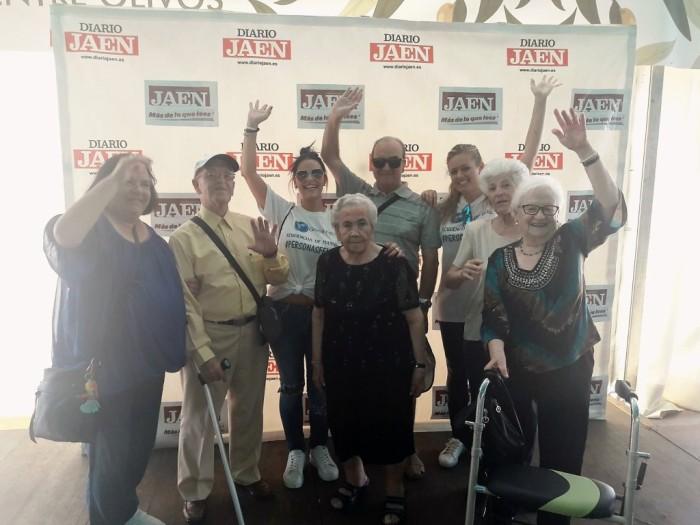Grupo Reifs  Residencia de Bedmar visita la Feria de San Lucas deJaén